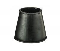 Манжет конусный  D60х80 черный Симтек 023-0725