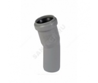 Отвод PP серый Дн50х30° б/нап в комплекте (960/20) Ostendorf  112110