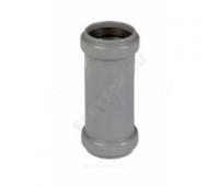 Муфта PP серый 2-х растр Дн110 б/нап в комплекте (240/20) Ostendorf  115510
