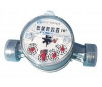 Счётчик х/в одноструйный ETK-N Ду15 30С L=110мм в комплекте антимагнитный 1,5м3/ч Zenner