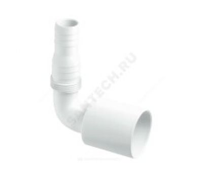 Адаптер для слива угл D=40мм 90° McAlpine MRWMF-90