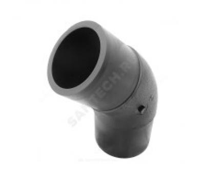 Отвод ПЭ100 SDR17 Дн110х45° литой