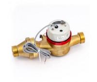 Счётчик г/в импульсный ВСТ-25 Ду25 150C L=260мм резьбовой в комплекте 10л/имп Тепловодомер