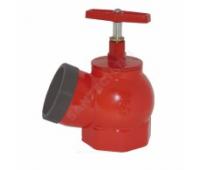 Клапан пожарн чугун 15кч11р Ду50 ВР/НР (ПК-50) угл 125гр  ZW80001