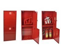 Шкаф пожарн ШПК 320 НЗК 200 мм навесной закрытый красный