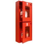 Шкаф пожарн ШПК 320 НОК 230 мм навесной открытый красный