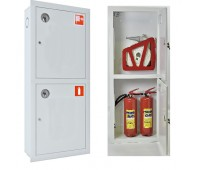 Шкаф пожарн ШПК 320 ВЗБ 230 мм встроенный закрытый белый