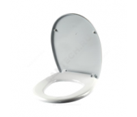 Сиденье для унитаза дюропласт Бореаль белый Сантек 1.WH10.6.915