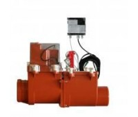 Затвор  канализационн Ду110 с электроприводом HL  HL 710.2EPC