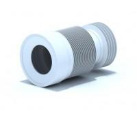 Удлинитель для унитаза гибкий Дн110 L=240-480мм АНИ K828