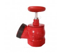 Клапан пожарн чугун КПК 65-1 Ду65 Ру16 ВР/НР угл 125гр (6) Апогей