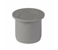 Заглушка PP серый Дн40 б/нап в комплекте (2880/20) Ostendorf  111620