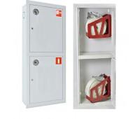 Шкаф пожарн ШПК 320 21 ВЗБ 230 мм встроенный закрытый белый