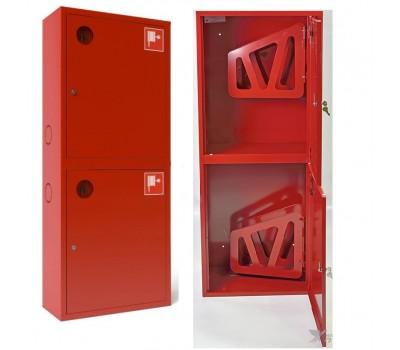 Шкаф пожарн ШПК 320 21 НЗК 200 мм навесной закрытый красный