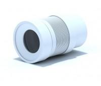 Удлинитель для унитаза гибкий Дн110 L=210-320мм АНИ K821