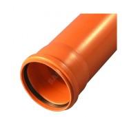 Труба НПВХ Дн110х3,2 L=1,0м (50) Хемкор 1491056