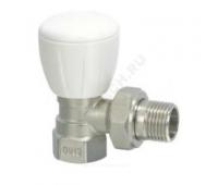 Клапан терморегулирующий R5TG для радиатора Ду15 угл ручной (50) Giacomini R5X033