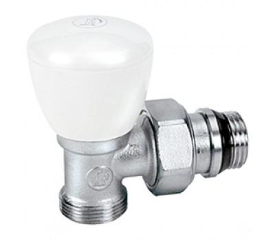 Клапан терморегулирующий R5TG для радиатора Ду20 угл ручной (50/5) Giacomini R5X034