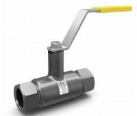 Кран шаровой сталь вода КШЦМ Ду40 Ру40 ВР/ВР стандартный проход LD 13300409402MULD000000000