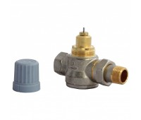 Клапан для однотр системы Ду20 RA-G/RTR-G прям Danfoss 013G1677/013G7026