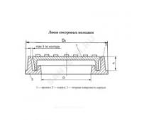 Люк полимерно-песчан легкий ЛППЛ  А30 m=32кг серый/черный Сантехкомплект/Полимер