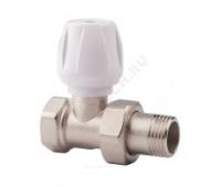 Клапан терморегулирующий  для радиатора Ду20 прям ручной Icma 82813AE06