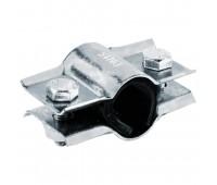 Хомут ремонтный сталь оцинк Ду25  двухсторонний L=40мм ККАЗ 013-0115