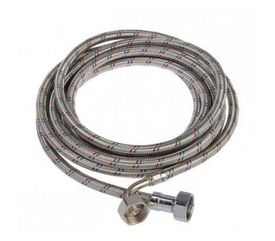 Шланг для стиральной машины заливной L=1,5м в нерж оплетке (70) Монофлекс Н01370