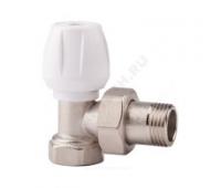 Клапан терморегулирующий  для радиатора Ду20 угл ручной Icma 82803AE06