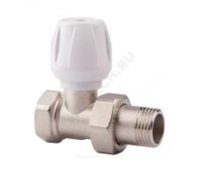Клапан терморегулирующий  для радиатора Ду15 прям ручной Icma 82813AD06