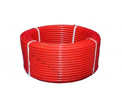 Труба PERT красный Дн16х2,0 для теплого пола бухта 200м (200) ПК Контур 060100016200