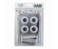 Комплект  монтажн VGB102 для радиатора Ду15 унив в блистере 4 кроншт. 15 предметов GABI