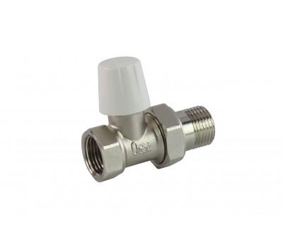 Клапан запорн  для радиатора Ду20 прям Ogint 007-5839