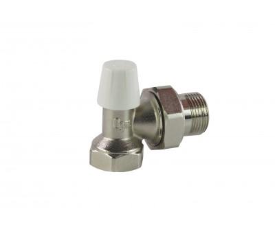Клапан запорн  для радиатора Ду15 угл Ogint 007-5840