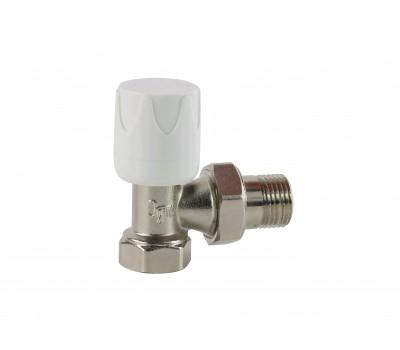 Клапан ручной  для радиатора Ду20 угл Ogint 022-1371