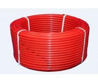 Труба PERT красный Дн20х2,0 для теплого пола бухта 200м (200) ПК Контур 060100020200