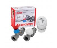 Комплект термостатическ R470F Ду15 Ру10 прям R470+R402TG+R14TG (18) Giacomini R470FX013