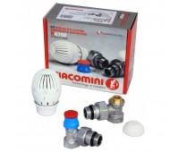 Комплект термостатическ R470F Ду15 Ру10 угл R470+R401TG+R14TG (18) Giacomini R470FX003