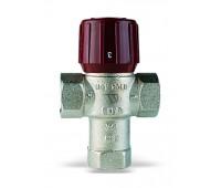 """Клапан смесительн AQUAMIX Ду1""""  термостатический ВР AM6111C1 Kvs=2,1 32-50C (36) Watts 10017423(05.59.235)"""