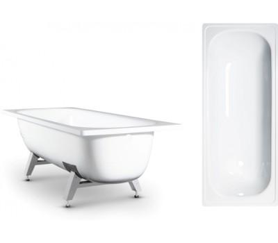 Ванна сталь 1700х700х400мм Donna Vanna белый в комплекте с ножками ВИЗ DV-73901