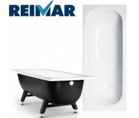 Ванна сталь 1400х700х400мм Reimar белый с полимерным покрытием ВИЗ R-44901