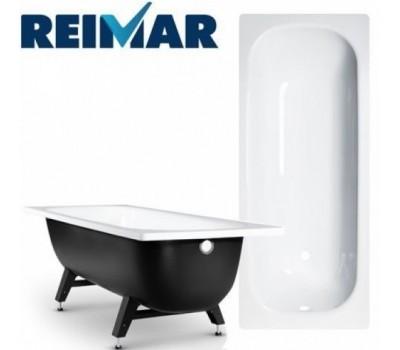 Ванна сталь 1500х700х400мм Reimar белый с полимерным покрытием ВИЗ R-54901
