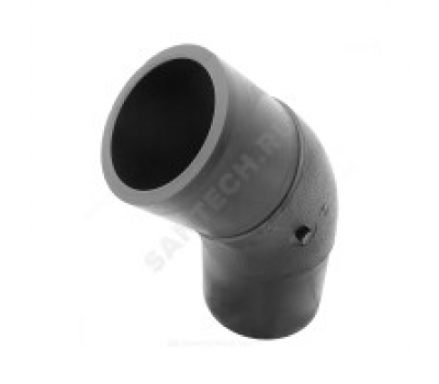 Отвод ПЭ100 SDR11 Дн225х45° литой