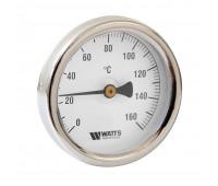 """Термометр биметаллический ТБ63/50S с погружной гильзой Дк63 L=50мм кл.т.2,5 G1/2"""" 160C (50) Watts 10005806(03.01.053)"""