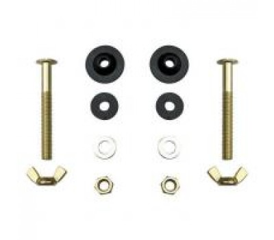 Крепёж бачка к унитазу латунь D8 комплект Frap /FD-12