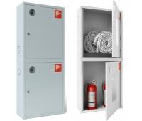 Шкаф пожарн ШПК 320 12 НЗБ 300 мм навесной закрытый белый