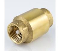 Клапан обратный латунь 3001 Ду15 Ру16 ВР пружинный (180/15) Aquasfera 3001-01
