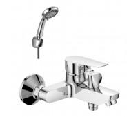 Смеситель для ванны  одноручный короткий излив хром ROSSINKA S35-31