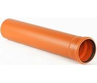 Труба НПВХ Дн110х3,2 L=0,5м (50) Хемкор 1491055