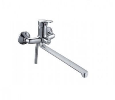Смеситель для ванны  одноручный картридж 35мм хром Frap F2214-B
